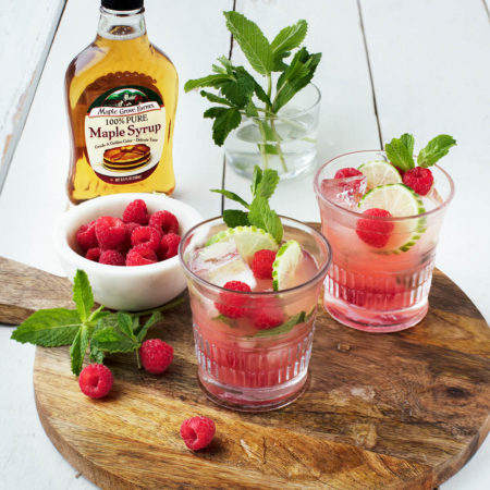 Image of Maple Raspberry Mojito
